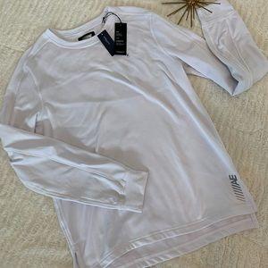 NWT American Eagle White Long Sleeve Top Medium